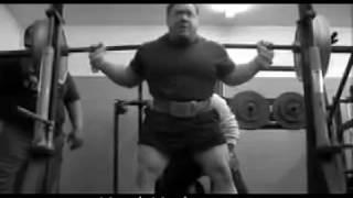 Ed Coan - Quads Gym Squat Workout