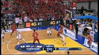 23/03/2015 El UCAM Murcia Club Baloncesto ha hecho historia