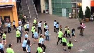 Charlotte epicentre flash mob