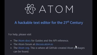 How To Compile & Execute C | C++ Program in Atom Editor Explained in Hindi