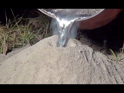 Alumínio Derretido em Formigueiro l HD
