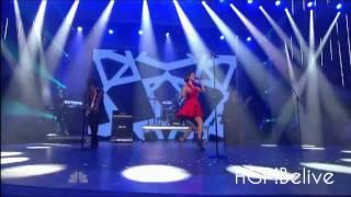Selena Gomez & The Scene - Round And Round (Live at America's Got Talent !