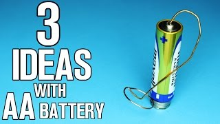 3 ideas with AA Battery