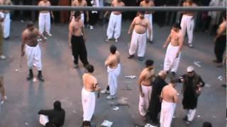 Zanjeer Zani Performed By Qizalbash Family on 10th Muharram 1433 A.H