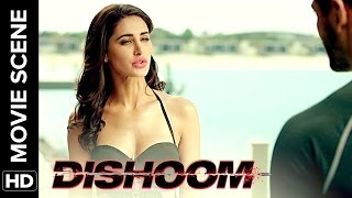 Varun and John interrogate Nargis Fakhri| Dishoom | Movie Scene