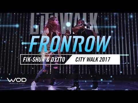 Fik Shun & Dytto | FrontRow | World of Dance Live 2017 | #WODLive17