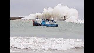 [TRỰC TIẾP] Bão số 9 áp sát Vũng Tàu, gió giật mạnh lên cấp 13
