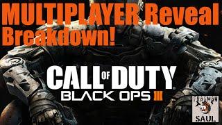 Call of Duty Black Ops 3: Multiplayer Reveal Trailer June 2015 Breakdown