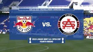 2015 Lamar Hunt U.S. Open Cup - Round 4: New York Red Bulls vs. Atlanta Silverbacks