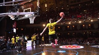Kyle Guy attempts balcony alley-oop at the McDonald's All-American Game
