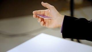 How to Throw Cards | Magic Card Flourishes