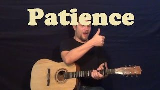 Patience (Guns and Roses) Guitar Lesson Easy Strum Chords How to Play Tutorial