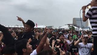 """HenLee @ DEAD POP FESTIVAL 2017 """"非公式 裏O.A"""" LIVE"""