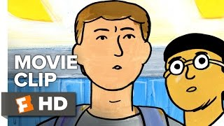 My Entire High School Sinking Into the Sea Movie CLIP - Survival Guide (2017) - Animated Movie