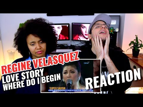 Regine Velasquez - Love Story Where Do I Begin | REACTION