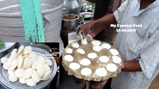 Indian Street Food Tasty Idli & Sambar - Indian Street Food Kolkata - Street Foods in India