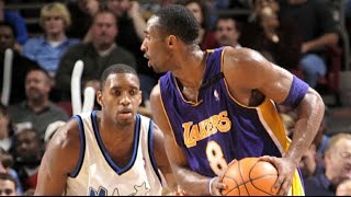Kobe Bryant VS Tracy McGrady! Kobe 38 Points, T-Mac 38 Points   11.27.02