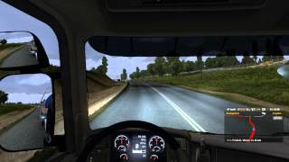 Euro Truck Simulator 2 - Part 10 - Rotterdam (NL) to Manchester (GB) - Chemicals (19t)