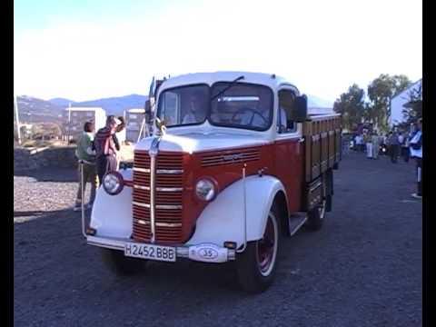 Camiones clasicos en Segovia