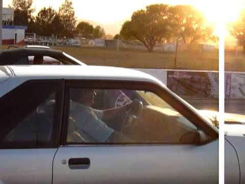 Mustang Cobra Vs. Mustang 80´s Arrancones en Toluquilla
