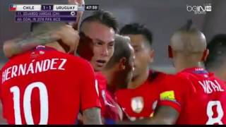Chile vs Uruguay 3-1 All Goals and Highlights 2016 ( english commentary )