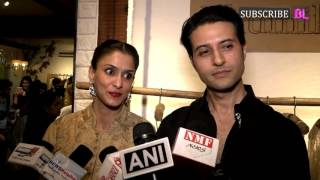 Apurva Agnihotri and Shilpa Sakhlani at launch of Designer Bhumika & Jyoti's New Collection
