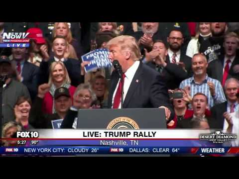 WATCH Trump Takes A Dig At Hillary Clinton During Rally FNN
