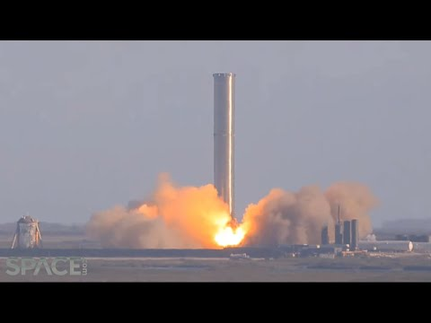 SpaceX Super Heavy booster test fired for first time