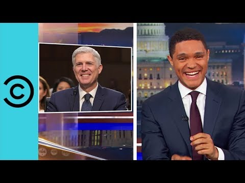 Neil Gorsuch Speaks Like An Action Hero The Daily Show Comedy Central