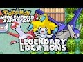 Pokemon Mega Emerald Xy Edition: Legendary Locations (mega Latios, Latias & Jirachi)