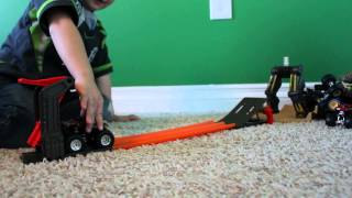 Hot Wheels Monster Truck Toys - Featuring MAX-D   Amazing Kid Toys   Season 1: Episode 1