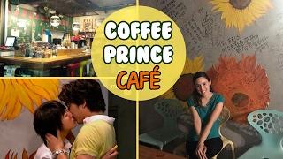 Visitando el Café de Coffee Prince en COREA | Hablemos de Doramas