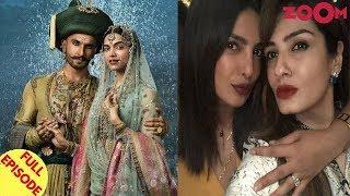 Ranveer-Deepika Want To Keep Their Wedding Private | Priyanka Flaunts Her Engagement Ring & More
