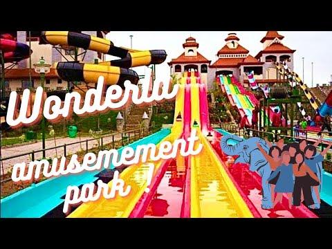 Amazing Water Slides Wonderla Amusement Park Bangalore India HD