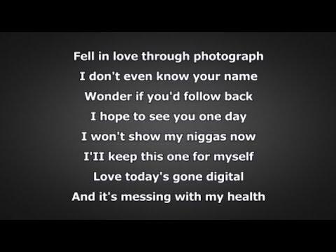 J. Cole - Photograph (Lyrics)