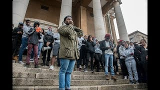 Daily Maverick | Protesting UCT students attempt shutdown | 25 October 2017