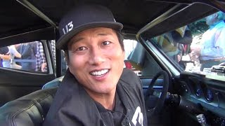 Sung Kang Maverick Underdog Car Interview U3 at SEMA 2016