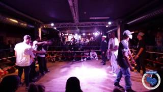 Ready Or Not Final 2014 | Dance 1/4 Final Battle | Criminalz VS Power Rangers