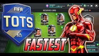 FASTEST SILVER PLAYER SQUAD IN FIFA MOBILE 18 AND TOTS PROGRESS!!
