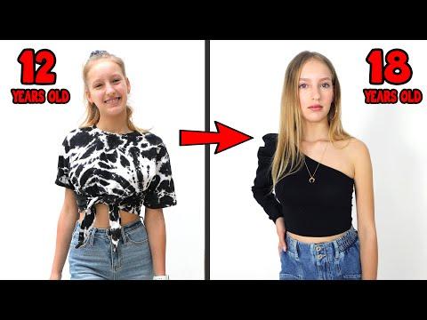 Karina s Transformation to Look Older