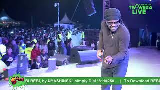 Nyashinski - Bebi Bebi #TwawezaLive Eldoret