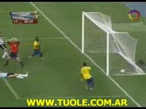 Argentina 0 3 Brasil Copa América 2007 La Final