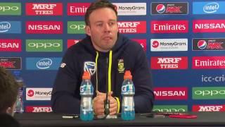 AB de Villiers pre South Africa vs Pakistan ICC champions trophy match press conference 2017
