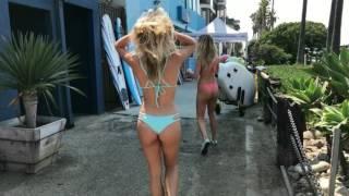 VENICE BEACH: Behind The Scenes- Beach Babe Swimwear Shoot