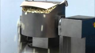 Industrial Popcorn Making Machine with Auto Tilting Kettle