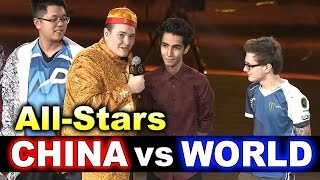 CHINA vs WORLD - ALL STAR MATCH - DAC 2017 DOTA 2
