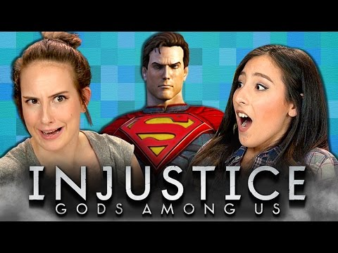 INJUSTICE GODS AMONG US REACT Gaming