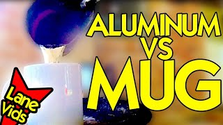 CUTE COFFEE MUGS VS MOLTEN ALUMINUM