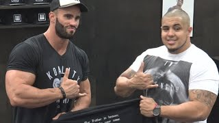Mr. Universe Calum Von Moger at LA Fit Expo 2017