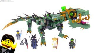 LEGO Ninjago Movie Green Ninja Mech Dragon review 🐉 70612
